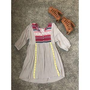 Boho Shirt Dress